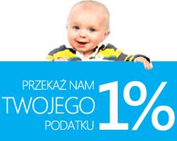 Przekaz 1 procent podatku
